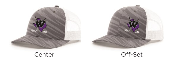 WHS Golf - Richardson Streak Hat #114