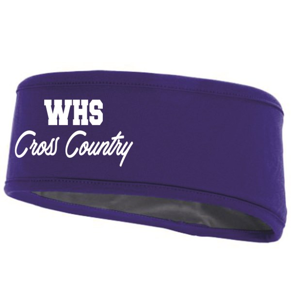 WHS Cross Country - Headband 6750