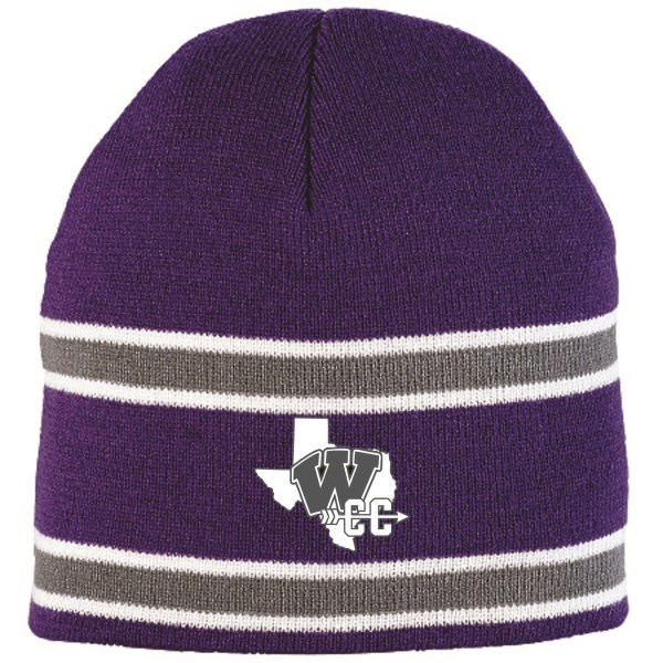 WHS Cross Country - Stripe Beanie 6825