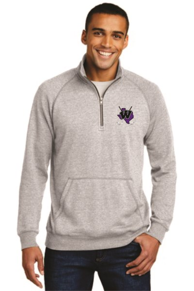 WHS Golf - DM392 - District Made Lightweight Fleece 1/4 Zip