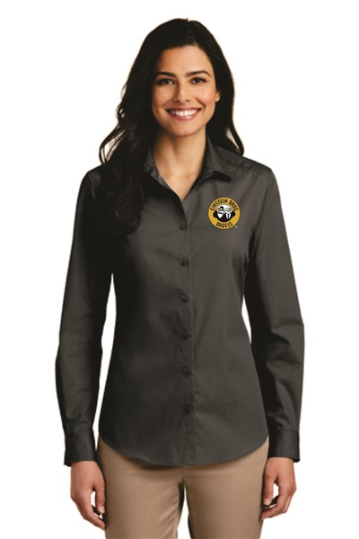 Einstein - LW100 - Port Authority Ladies L/S Poplin Shirt