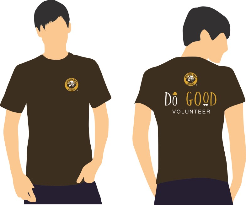Einstein Bros Bagels - DO GOOD tshirt