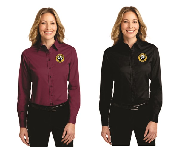 Einstein - L608 - Port Authority Ladies Long Sleeve Button Down