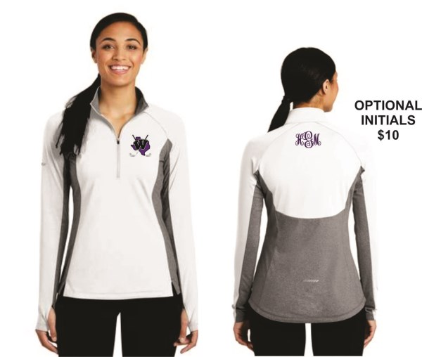WHS Golf - LST854 - Sport Tek Ladies 1/2 Zip Pullover