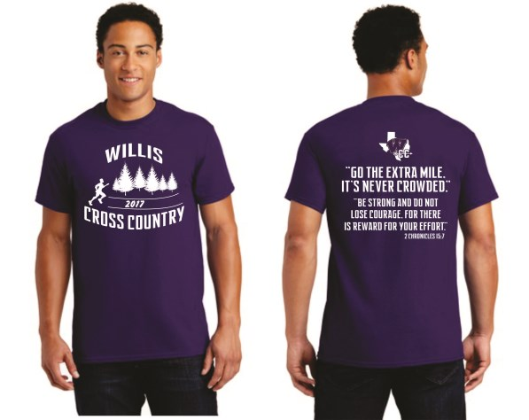 WHS Cross Country - Purple Spirit Tee 5000
